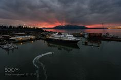 Alaska Ferry Sunset by epsilon8472