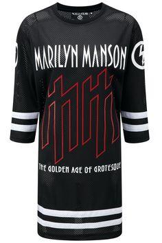 USE YOUR FIST Hockey Team Dress - KILLSTAR x MARILYN MANSON
