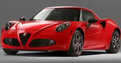 Alfa Romeo 4C: New Pictures