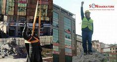 """Rize'de Belediye işçisinin """"İşte yeni atanız"""" pozu utanmazlığı"""