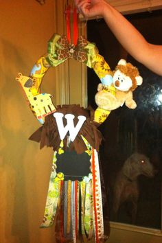 Safari wreath we did!!
