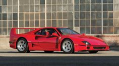 Hammer price: $1,265,000The first road legal production car to hit 200mph, the 1990  Ferrari F40... - RM Auctions