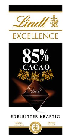 Lindt: Excellence 85%, 100g Lindt Excellence, Cocoa Butter
