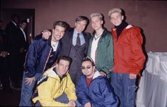 When NSYNC took it one step further and wore matching Crayola-colored windbreakers WITH matching cargo jeans.