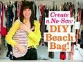 Create a No-Sew DIY Beach Bag! Video Clip - Seventeen