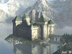 Winjard Castle wp by svenart.deviantart.com on @DeviantArt