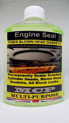 ENGINE SEAL HEAD GASKETS SEALER WRAPPED BLOWN HEAD GASKETS & ENGINE BLOCKS,16 OZ