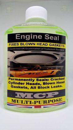 STEEL  SEAL HEAD GASKET SEALER, MCP, PROFESSIONAL ,PERMANENT, ,USING 4 CYLINDERS #EngineSeal