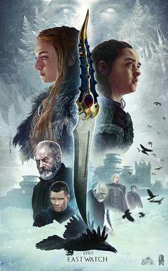 "Game of Thrones ""Eastwatch"" 07x05 by @Ertacaltinoz"