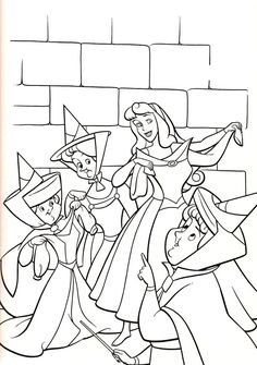 Free Printable Sleeping Beauty Coloring Pages H M Coloring Pages