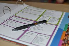 home organization binder printouts. I really like the menu plan and the to-do list. I think I could use the blank day at a glance file to keep track of work stuff, family stuff and the freezer meal endeavor.