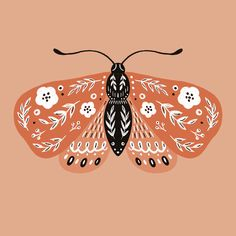 Nature Illustration, Butterfly Illustration, Insect Art, Cool Stuff, Skin Art, Art Sketchbook, Creative Inspiration, Art Inspo, Vector Art