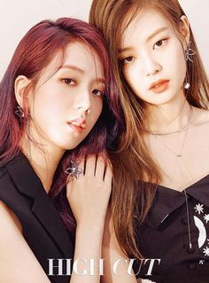 Elegant Jisoo and Jennie