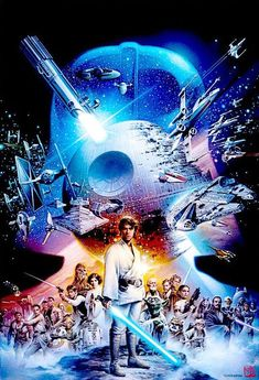 Star Wars 40th Anniversary by Tsuneo Sanda