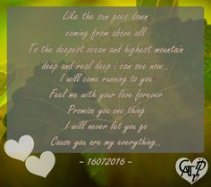 You are my Everything lovely.. #TimeGATIPV #16072016 #HappySixMonth #GAT #IPV