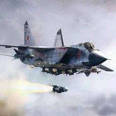 #Repost @kanatliturk  MiG-31 by militarytopics