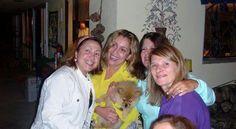Eu e as amigas da minha mãe