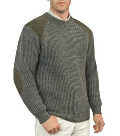 Green Hunting Clothing   Shooting Jumper   Country Sweater