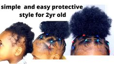 guys today i bring to you this super easy protective hairstyle for toddlers and kids using my DIY drawstring hair bun. on Short Natural hair . Black Baby Girl Hairstyles, Black Girl Short Hairstyles, Natural Hairstyles For Kids, Easy Hairstyles, Short Hair For Kids, Short Hair Styles Easy, Natural Hair Styles, Black Little Girls, Illustration Kids