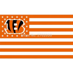 #US #AMERICA #STAR #CINCINNATI #BENGALS #FLAG #SUPER #BOWL #CHAMPIONS #FOOTBALL #TEAM #FANS #WORLD #SERIES #3FT #X #5FT #BANNER #100D #POLYESTER
