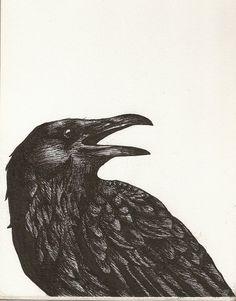 Raven by ~Kanjimaru67 on deviantART