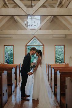 """Those """"I do"""" feels #chapel #justmarried"""