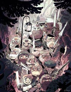 """""""Expert Treasure Hunters"""" by Sam Bosma"""