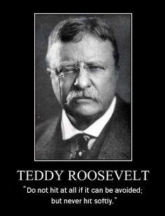 Theodore Roosevelt, my favorite president