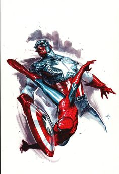 Spider-Man vs Captain America
