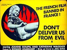 dontdeliverusposter Joel Seria   Mais ne nous delivrez pas du mal AKA: Dont Deliver Us from Evil (1970)