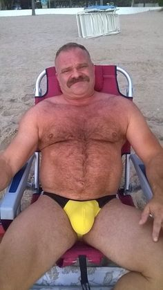 Mature speedo men