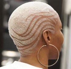 Stunning Natural Short Haircut Styles for Women 2019 Haircut Style how to style a messy bob haircut Haircut Styles For Women, Short Haircut Styles, Short Styles, Short Hair Designs, Shaved Hair Designs, 360 Waves Hair, Buzz Cut Women, Curly Hair Styles, Natural Hair Styles