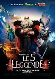 Le 5 Leggende (2012) Streaming ITA