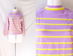 Spring Sweater  50's Vintage Jumper  New with Tags!  by PomegranateVintage, $45.00