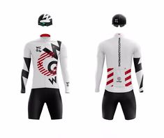 WCGW, first cycling jersey design