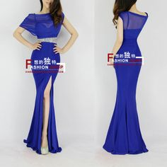 Fashion gauze 2013 spaghetti strap bride evening dress long formal dress one-piece dress h0541 $47.99