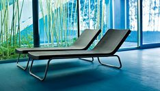 Time Out is a collection for the modern outdoor collection, which breaks with the usual style normally associated with garden furniture. Ideal for rest in the garden or on the edge of a swimming pool, this chaise longue will conquer you. The frame is in brushed stainless steel.   Available on http://www.malfattistore.it/en/product/time-out-2/   #malfattistore #outdoor #homedesign #interiordesign #armchair #chaiselongue #gardendesign