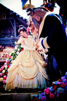 Festival of Fantasy Parade Princess  Belle  & The  Beast