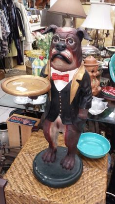 Dog butler at your service
