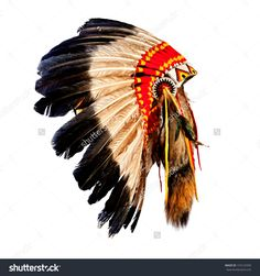 Native American Indian Chief Headdress (Indian Chief Mascot ...