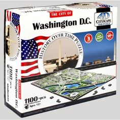 Jacob Washington DC the history over time puzzle approx $25