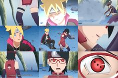 Boruto; Naruto Next Generation Episode 175 Cr7 Wallpapers, Boruto And Sarada, Tomoe, Team 7, Anime Naruto, Hinata, Ships, Memes, Boats