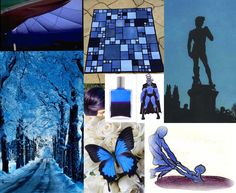 Julie Howlin Aura Soma Inspiration Equlibrium bottle #1 Blue, Deep Magenta Physical Rescue