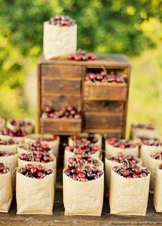 These 8 fun summer wedding favor ideas will make you look effortlessly cool at your warm weather celebration, not to mention have the most grateful guests! - These 8 fun summer wedding favor ideas will make you look effortlessly cool at y. Country Wedding Favors, Summer Wedding Favors, Wedding Favors For Guests, Unique Wedding Favors, Unique Weddings, Rustic Wedding, Wedding Gifts, Wedding Ideas, Wedding Tokens