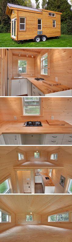 The Napa Edition tiny house from the Mint Tiny House Company