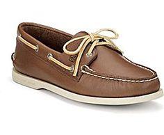 Authentic Original 2-Eye Boat Shoe, Tan