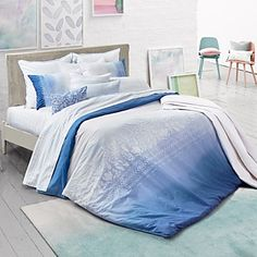 bluebellgray Paintbox Embroidered Duvet Cover Sets - 100% Bloomingdale's Exclusive