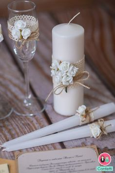 Wedding favors : If you're scared of turning your ankle, choose attractive flats instead. Having footwear that is certainly less sexy and can keep you wanted is an excellent trade-off. Wedding Glasses, Wedding Favors, Wedding Gifts, Wedding Decorations, Handmade Wedding, Wedding Unity Candles, Candle Craft, Candle Making, Wedding Accessories