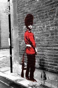 Banksy POSTER Monkey Laugh New Art 42x59cm