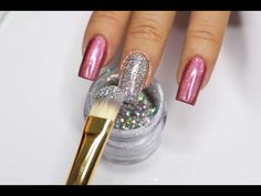 Clase #17 Como hacer Uñas Holograficas y Chromo ♥ Deko Uñas - Holographic and Chromo Nails - YouTube Acrylic Nail Shapes, Acrylic Nails, Gel Top Coat, Blogger Themes, Druzy Ring, Manicure, Nail Art, Youtube, Jewelry